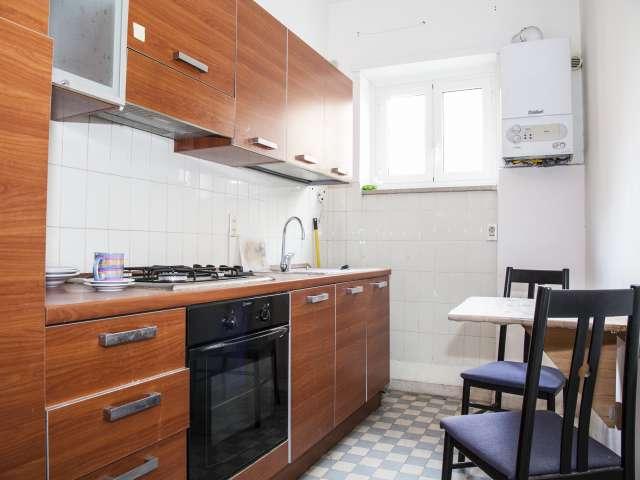 Angenehme 1-Zimmer-Wohnung zur Miete in Portuense, Rom