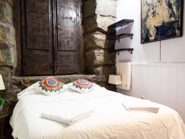 Einzigartige Studio-Wohnung zur Miete in La Latina, Madrid