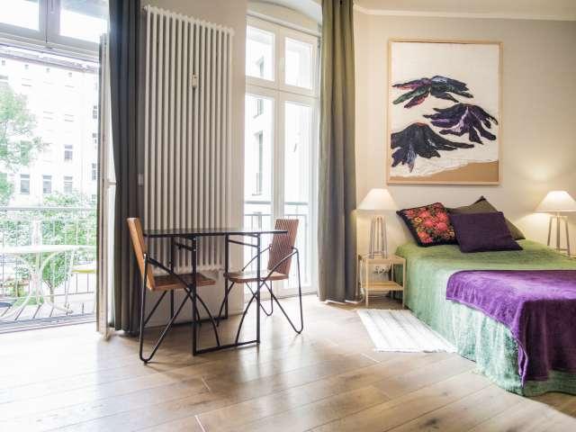 Einzimmerwohnung mit Balkon zur Miete in Kreuzberg