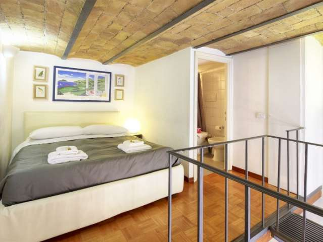 1-bedroom apartment for rent in Colosseo, Rome