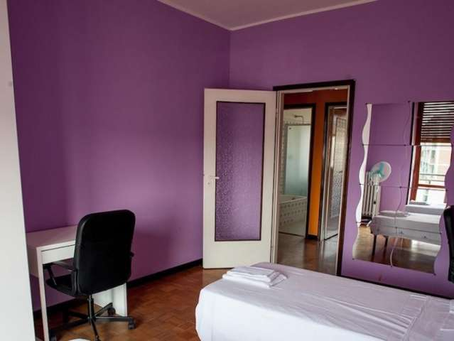 Furnished room in apartment in Tibaldi, Milan