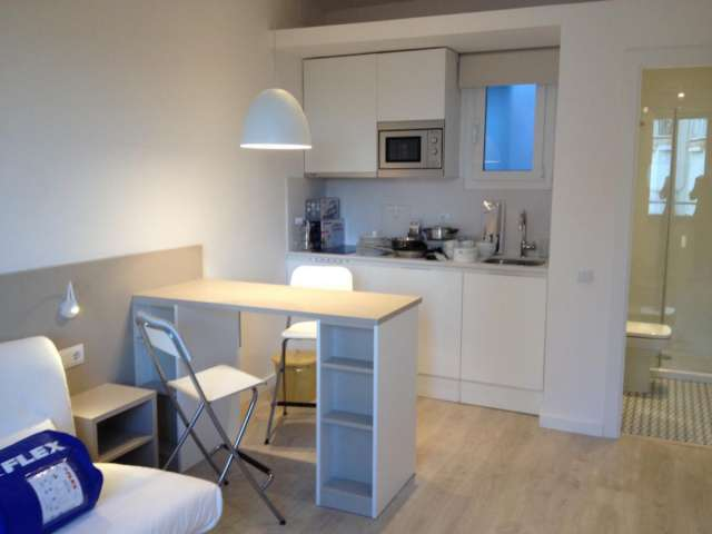 Studio apartment for rent in Eixample Dreta, Barcelona