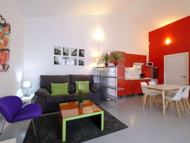 Studio apartment for rent in Quintana, Madrid