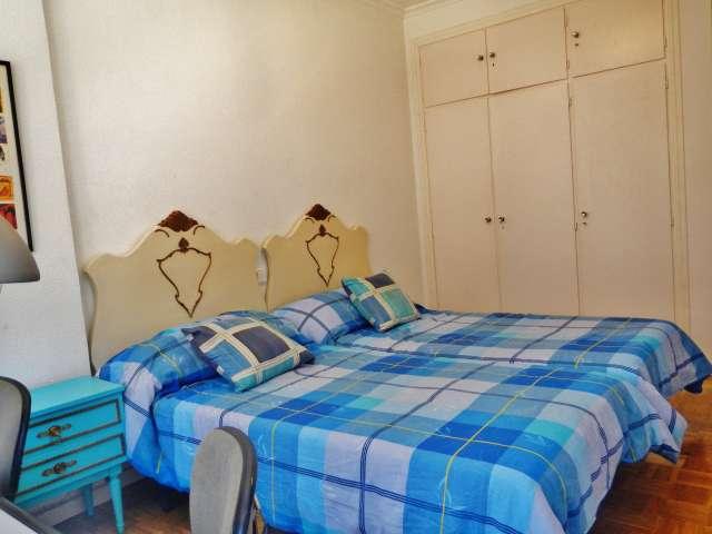 Gemütliche 1-Zimmer-Wohnung zur Miete in Príncipe Pío, Madrid
