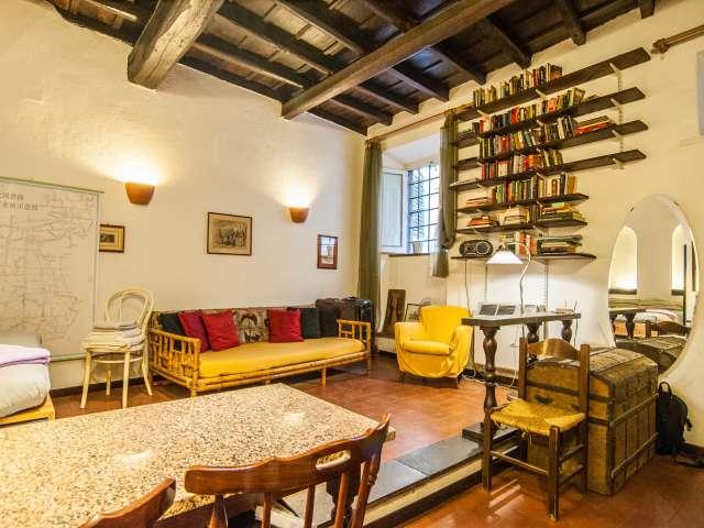 Bellissimo monolocale in affitto a Trastevere, Roma