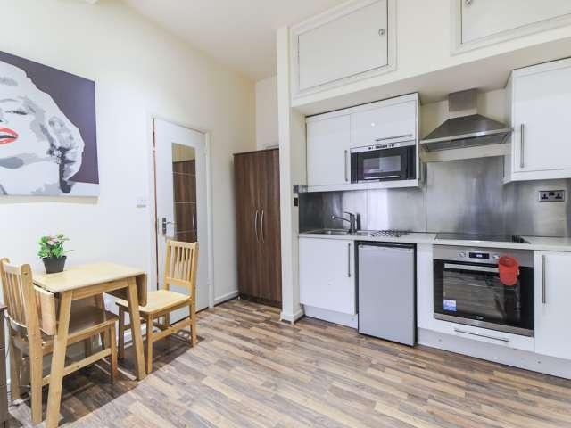 Chic studio apartment for rent in Brondesbury Park, London