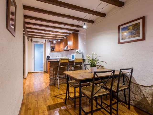 Studio apartment for rent in Ciutat Vella