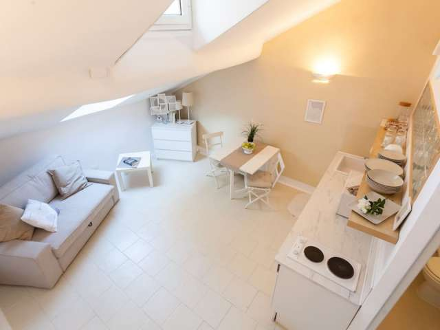 Studio apartment for rent in Porta Romana, Milan