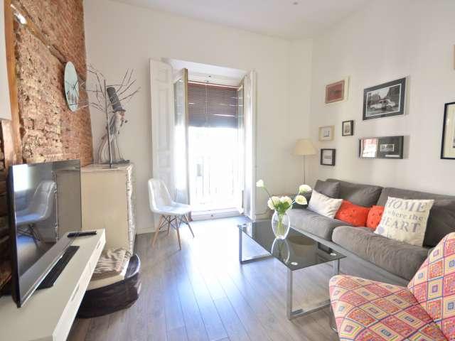 Fun 1-Zimmer-Wohnung mit Klimaanlage in La Latina zu vermieten