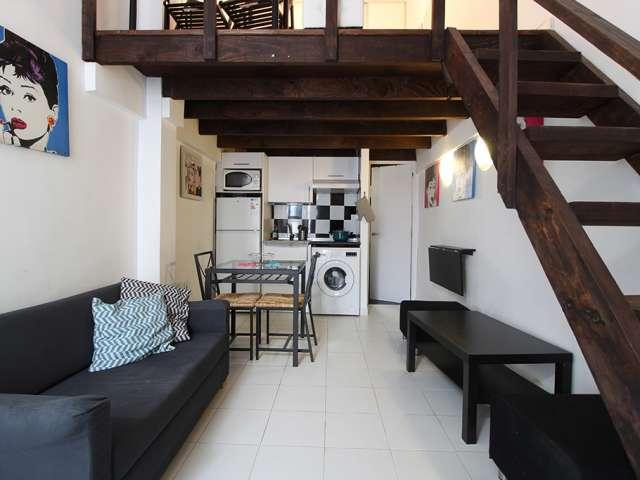 Studio apartment for rent in Tetuán, Madrid