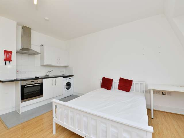 Minimalist studio flat to rent in Tower Hamlets, London