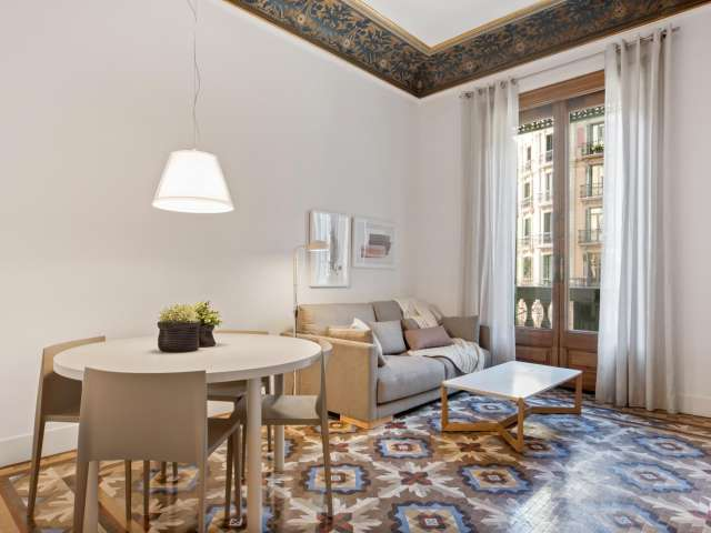 2-bedroom apartment for rent in Eixample, Barcelona
