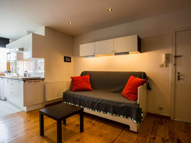 Appartement contemporain studio à louer à Jette, Bruxelles