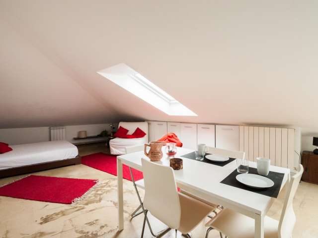 Modern studio with AC for rent in Loreto, Milan