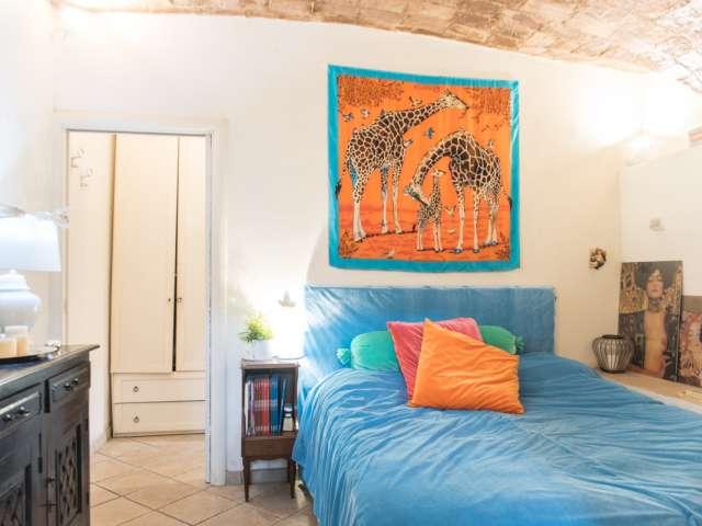 Confortevole camera in appartamento con 2 camere da letto in Vaticano, a Roma