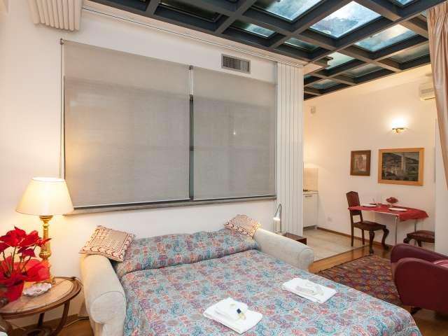 Charming studio apartment for rent in Centro Storico, Rome