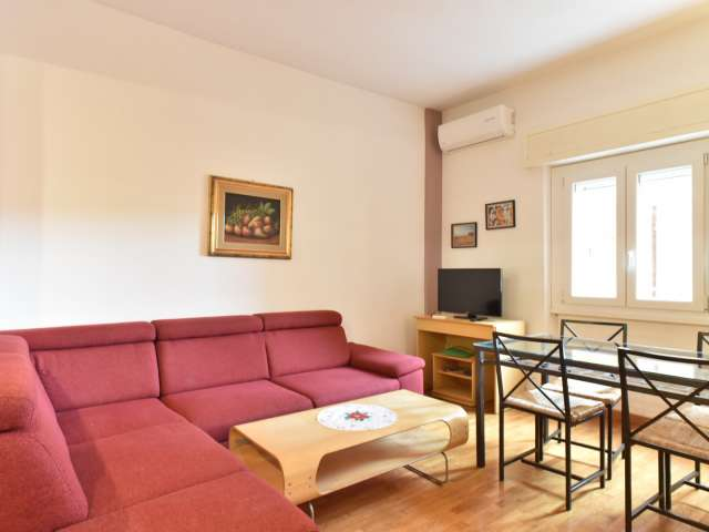 Komfortable 3-Zimmer-Wohnung zur Miete in Municipio XII