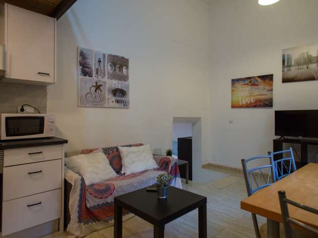 Clean 1-bedroom apartment for rent in Horta-Guinardó