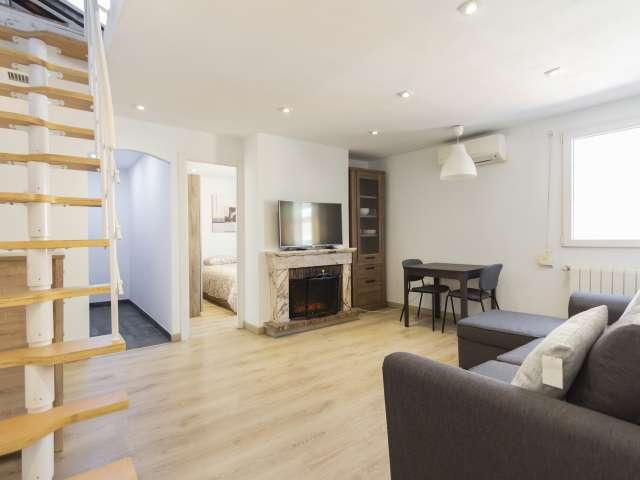 Schicke 2-Zimmer-Wohnung zu vermieten, Malasaña, Madrid