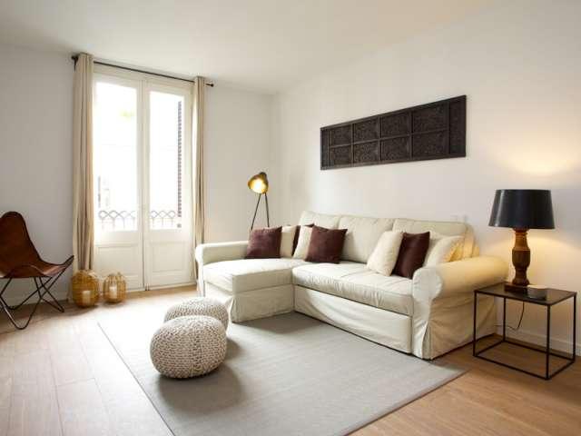 Grazioso appartamento con una camera da letto in affitto a L'Esquerra de l'Eixample