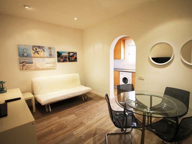 Moderne 2-Bett-Wohnung nahe dem Strand in Poblenou, Barcelona