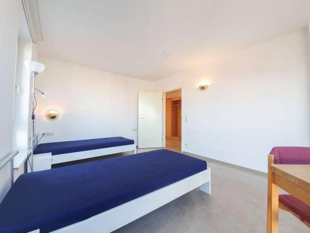 Betten zur Miete in 2-Zimmer-Wohnung in Tempelhof-Schöneberg