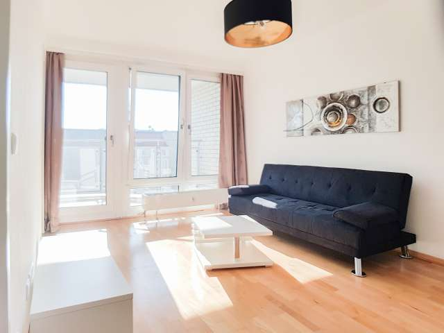 Chic apartment with 1-bedroom for rent in Mitte, Berlin