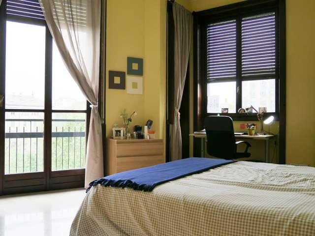 Exterior room in apartment in Navigli, Milan