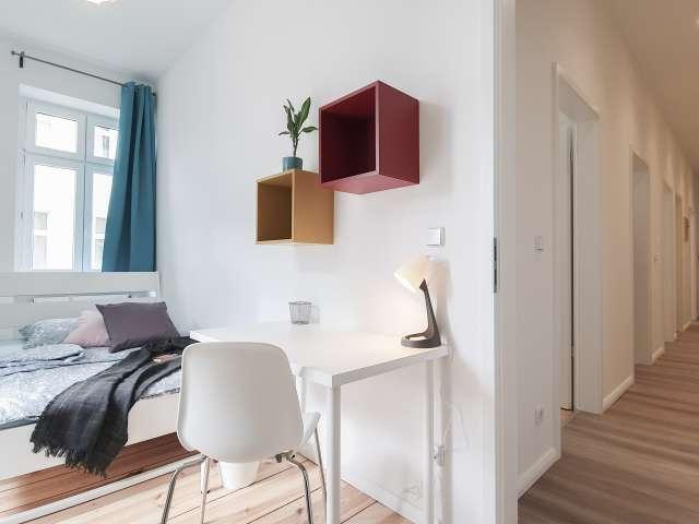 Zimmer zu vermieten in Wohnung mit 4 Schlafzimmern, Aldershof, Berlin