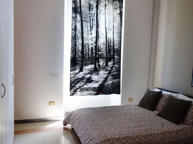 Angenehme 2-Zimmer-Wohnung zur Miete in Trastevere, Rom