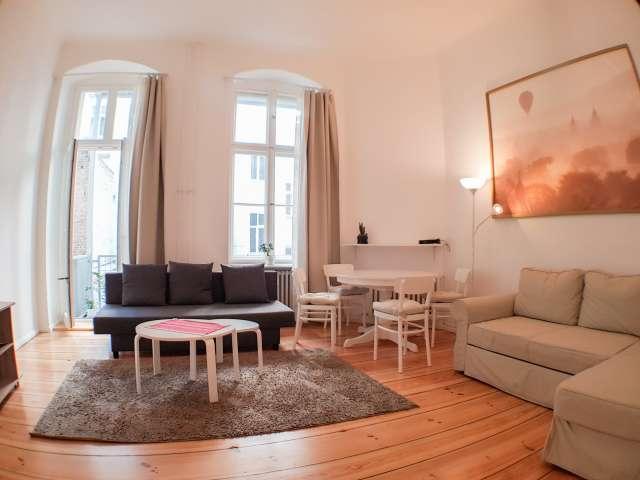 Helle Wohnung mit 1 Schlafzimmer zu vermieten in Moabit, Berlin