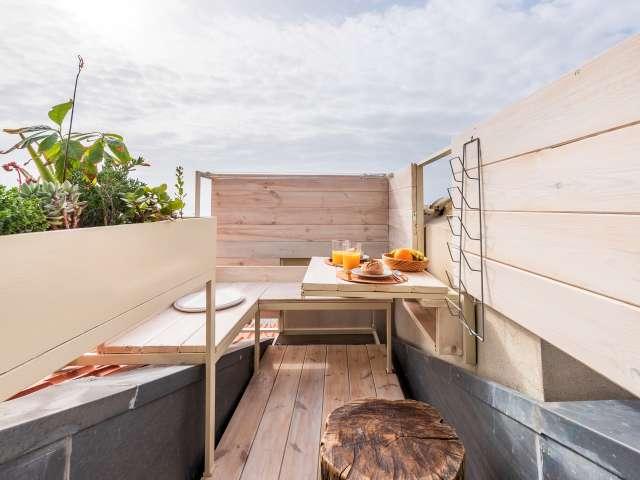 Apartamento de 1 quarto para alugar em Alfama, Lisboa