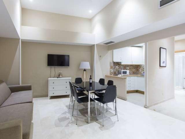 Super 2-Zimmer-Wohnung zur Miete in Centro, Madrid