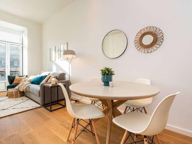 Studio apartment for rent in Rossio e Restauradores, Lisbon