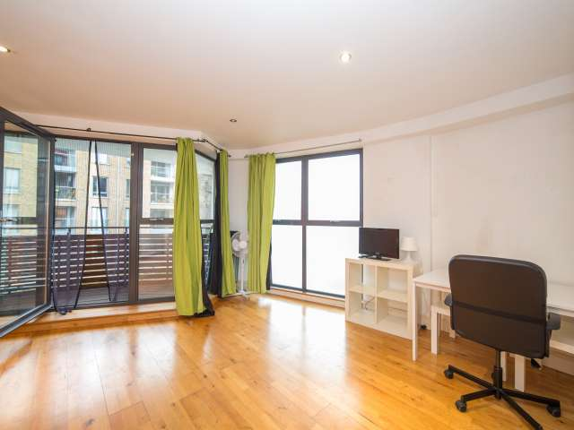Splendid studio for rent in Tower Hamlets, London