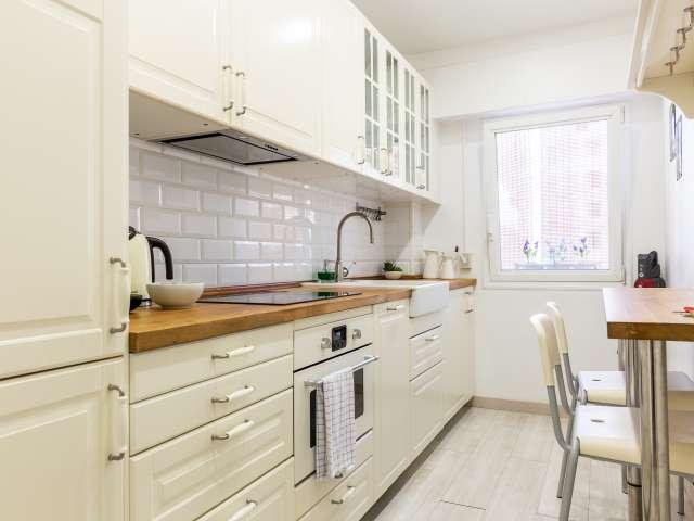 Moderne 2-Zimmer-Wohnung zur Miete in Les Corts, Barcelona
