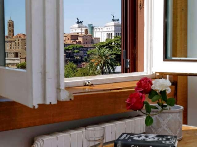 Amazing studio apartment for rent in Coliseum Area, Rome
