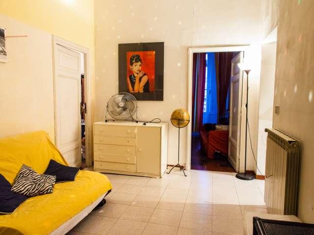 Ampia camera in appartamento nel centro di Roma, a Roma