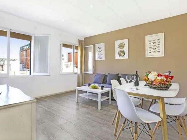 Sonnige 3-Zimmer-Wohnung zur Miete in l'Eixample Dreta