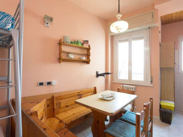 Lovely 1-bedroom apartment for rent in Milan.