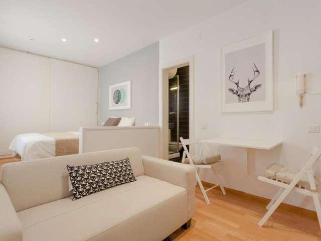 Studio apartment for rent in Sant Gervasi, Barcelona