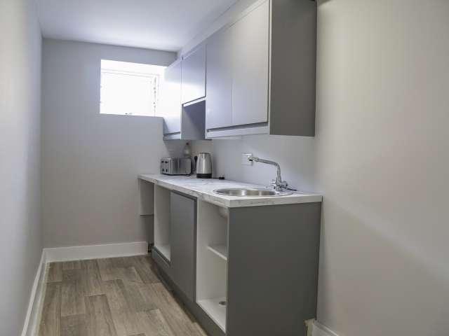 Appartamento con 1 camera da letto in affitto a North Inner City, Dublino