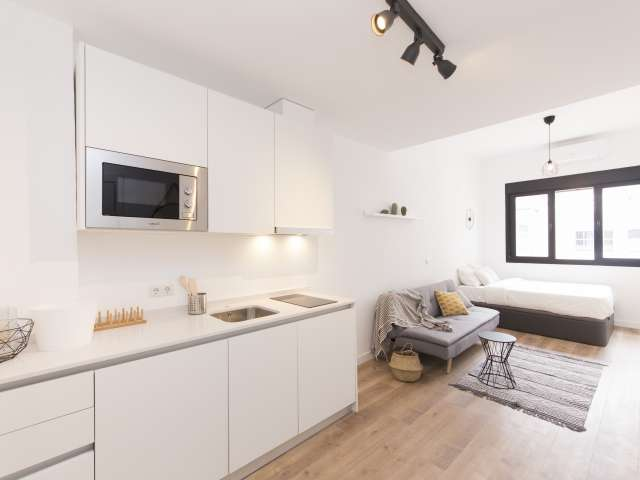 Studio apartment for rent in Tetuán, Madrid