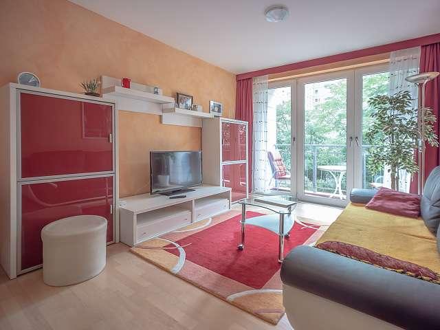 Stilvolles Apartment mit 1 Schlafzimmer zur Miete in Mitte, Berlin