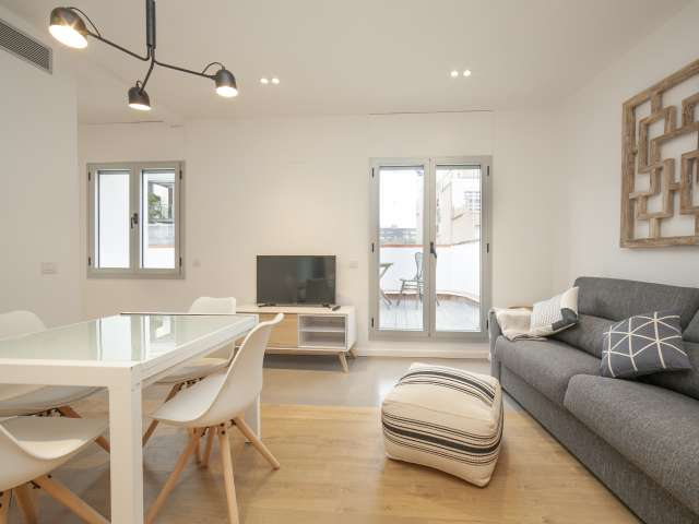 Great 2-bedroom apartment for rent in Gràcia, Barcelona
