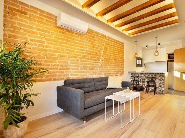 Studio apartment for rent in Poble-sec, Barcelona