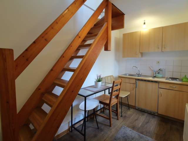 Cosy studio apartment for rent in Center, Brussels