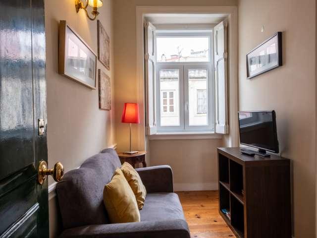 Lindo apartamento de 1 quarto para alugar em Campolide, Lisboa