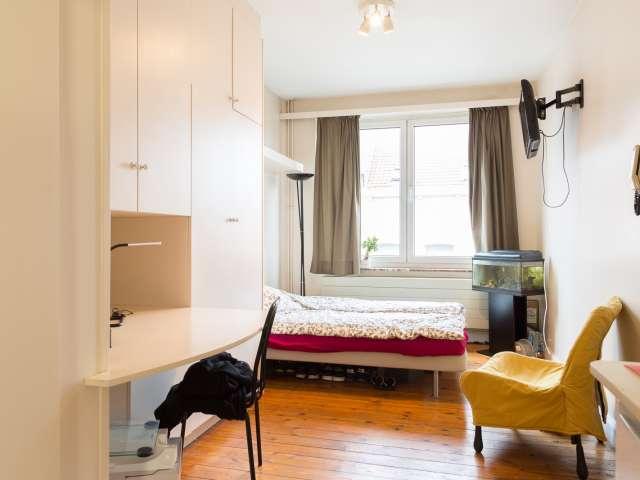 Studio confortable à louer à Schaerbeek, Bruxelles