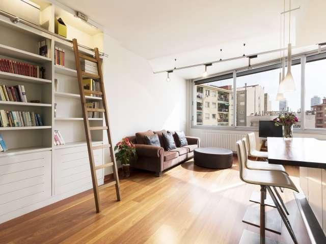 Studio apartment for rent in Poblenou, Barcelona